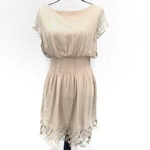 NWT Bar lll Laser Cut Fit & Flare Dress XL